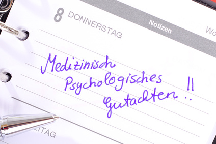 Medizinisch Psychologisches Gutachen
